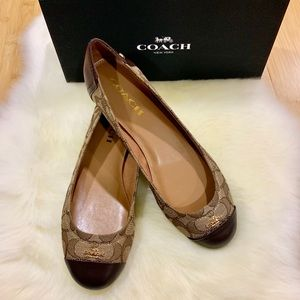 Brand new Coach Chelsea slip-on flats